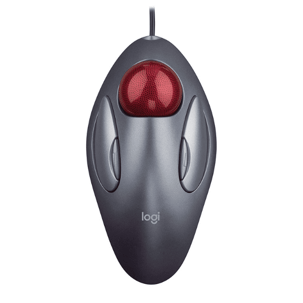 Logitech Marble Mouse Trackman (Grey)
