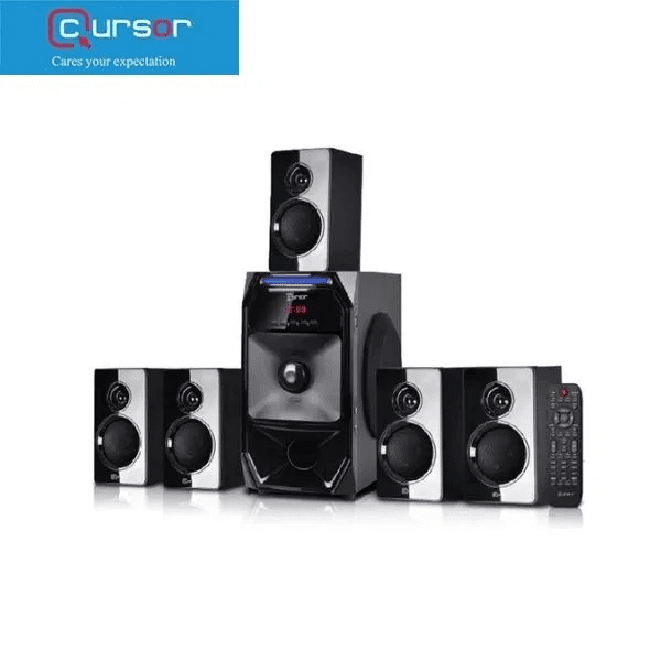 Cursor 5.1 Multimedia Speaker H5888 USB / FM Radio / Karaoke Function