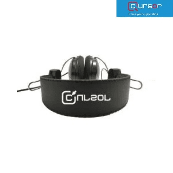 Cursor USB Stereo Headphone With Mic Button & Indicator HS-600U